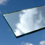 zrkadlo srieborne